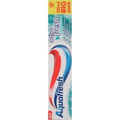 Aquafresh Tandpasta - Active Fresh 125 ml 5054563088598