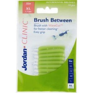 Jordan Interdentale borsteltjes - Clinic Brush Between XL 7046110065976
