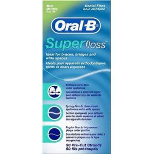 Oral-B Floss - Super Floss 50 stuks 4103330017369