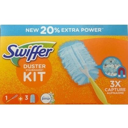 Swiffer Duster Kit Febreze- afstoffer + 3 doekjes 5410076542284