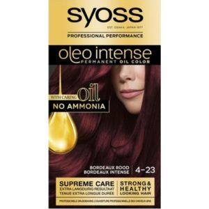 Syoss Haarverf Oleo Intense - 4-23 Bordeaux Rood 5410091719197
