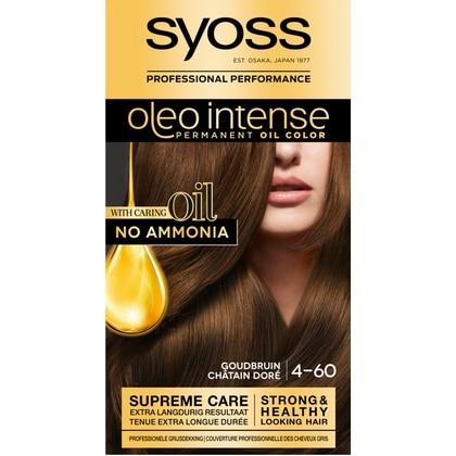 Syoss Haarverf Oleo Intense - 4-60 Goudbruin 5410091702724