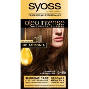 Syoss Haarverf Oleo Intense - 5-86 Licht Bruin 5410091702748