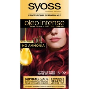 Syoss Haarverf Oleo Intense - 5-92 Stralend Rood 5410091702786