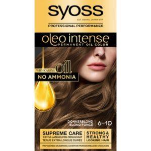 Syoss Haarverf Oleo Intense - 6-10 Donker Blond 5410091702755