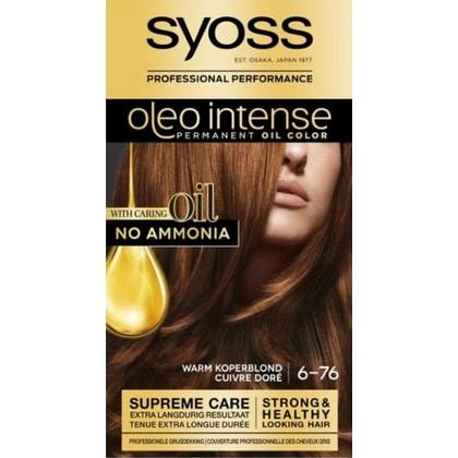 Syoss Haarverf Oleo Intense - 6-76 Warm Koperblond 5410091719173
