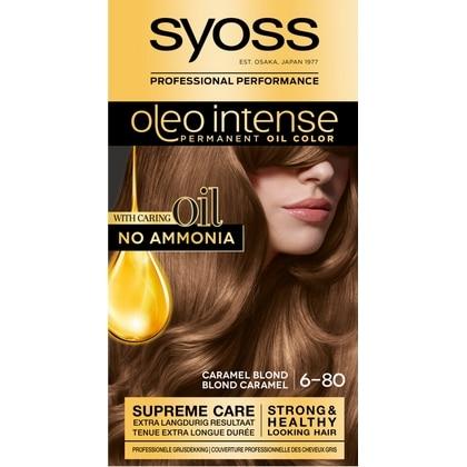 Syoss Haarverf Oleo Intense - 6-80 Caramel Blond 5410091719180