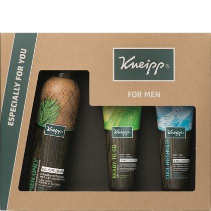 Geschenk Kneipp Men - Douche Foam & 2x Shampoo 2-in-1 8712585030861