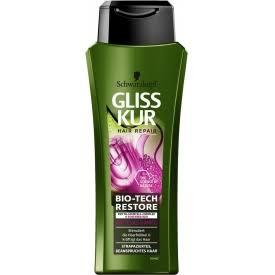 Gliss-Kur Shampoo - Bio-Tech Restore 250 ml 4015100297669