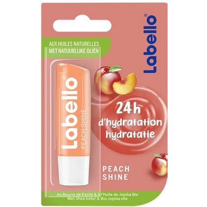 Labello Lipcare - Peach Shine 4,8 gr 4005900555656