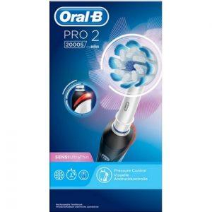 Oral-B Elektrische Tandenborstel - Pro 2 2000 S Black 4210201178712