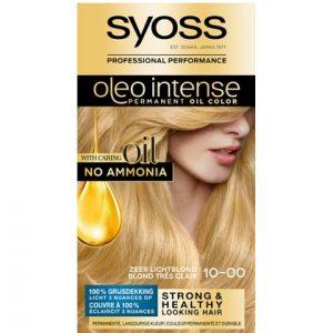 Syoss Haarverf Oleo Intense - 10-00 Zeer Lichtblond 5410091760991