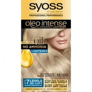 Syoss Haarverf Oleo Intense - 12-00 Zilverblond 5410091732004