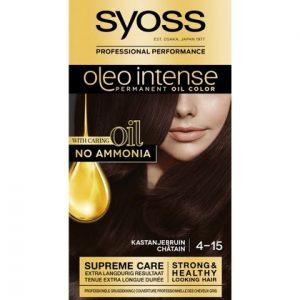 Syoss Haarverf Oleo Intense - 4-15 Kastanjebruin 5410091752095