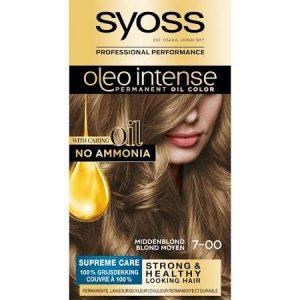 Syoss Haarverf Oleo Intense - 7-00 Middenblond 5410091760953
