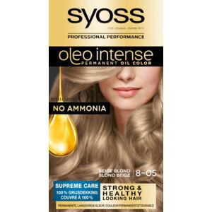 Syoss Haarverf Oleo Intense - 8-05 Beige Blond 5410091761035