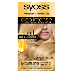 Syoss Haarverf Oleo Intense - 9-60 Licht Blond 5410091702779