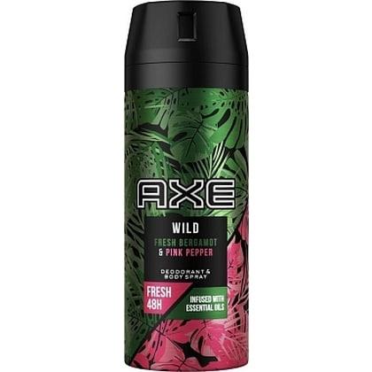 Axe Deospray - Wild Fresh Bergamot & Pink Pepper 150 ml 8710847901751