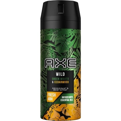 Axe Deospray Wild Green Mojito & Cedarwood 8710847901768