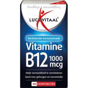 Lucovitaal Vitamine B12 1000mcg 60 tabletten 8713713039190