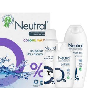 Neutral – Speciaal ontwikkeld voor de gevoelige huid