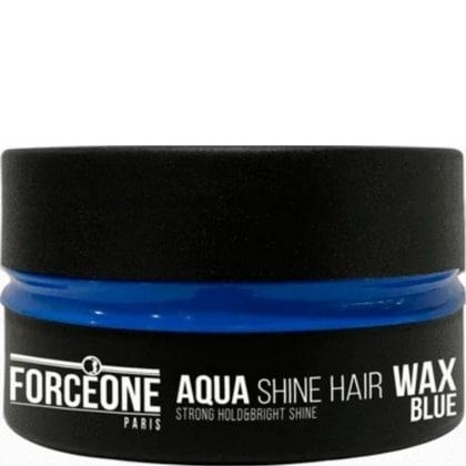 Forceone Haarwax Blue Aqua Shine Hair Wax 150 ml 8697926024368