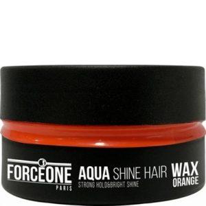 Forceone Haarwax Orange Aqua Shine Hair Wax 150 ml 8697926024320
