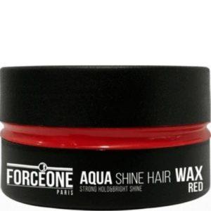 Forceone Haarwax Red Aqua Shine Hair Wax 150 ml 8697926024337