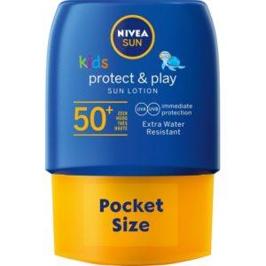 Nivea Zonnebrand Protect & Play F50 Pocket Size 50 ml 42360797