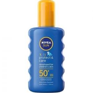 Nivea Zonnebrand Kids Protect & Care Spray F50 200 ml 4005808856671