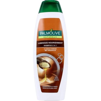 Palmolive Shampoo 2 in 1 Luminous Nourishment Argan Oil 350 ml 8718951372580