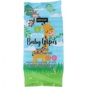 Sence Baby Billendoekjes Sensitive 72 stuks 8718924873403