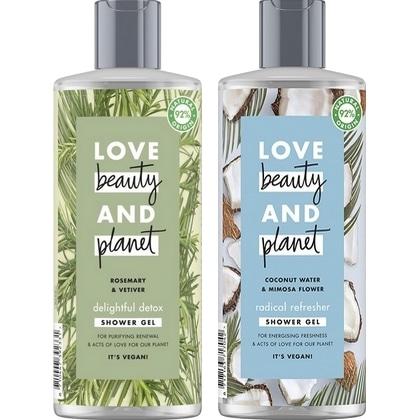 Love Beauty & Planet douchegel