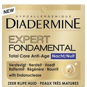 Diadermine Gezichtscreme Nacht Expert Fondamental 50 ml 5410091735395