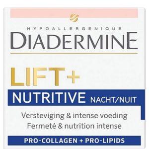 Diadermine Gezichtscreme Nacht Lift + Nutritive 50 ml 5410091728106