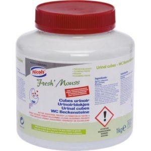 Nicols Urinoirblokjes pot 1 kg 3153830108129