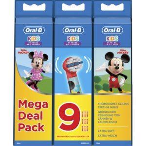 Oral-B Opzetborstels Mickey 9 stuks 4210201315148